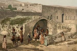 Nazaret - fuente de la Virgen