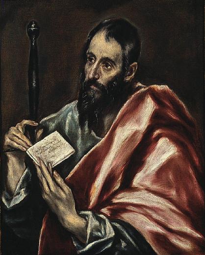 El_Greco_-_St._Paul