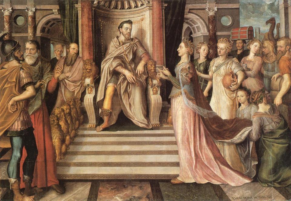 Reina de Saba y Salomon - Gante