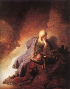 Jeremias se lamenta