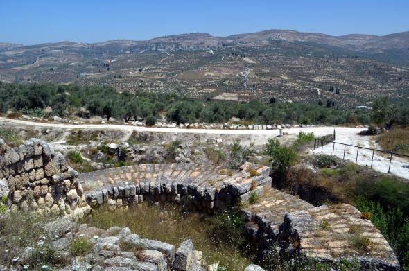 paisaje de samaria