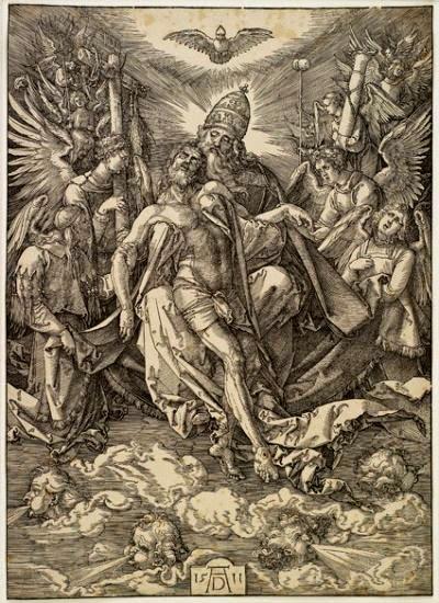 DURERO Alberto Trinidad Xilografia 1511