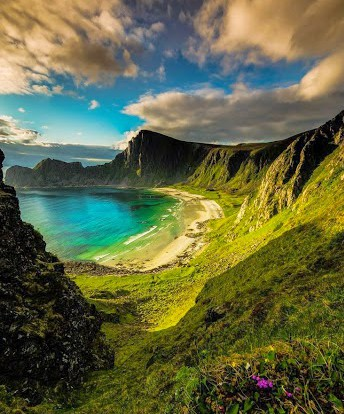Norway The hidden beach 2 por Terje Nilssen en Fivehundredpx