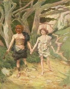 Cain_leadeth_abel_to_death_tissot