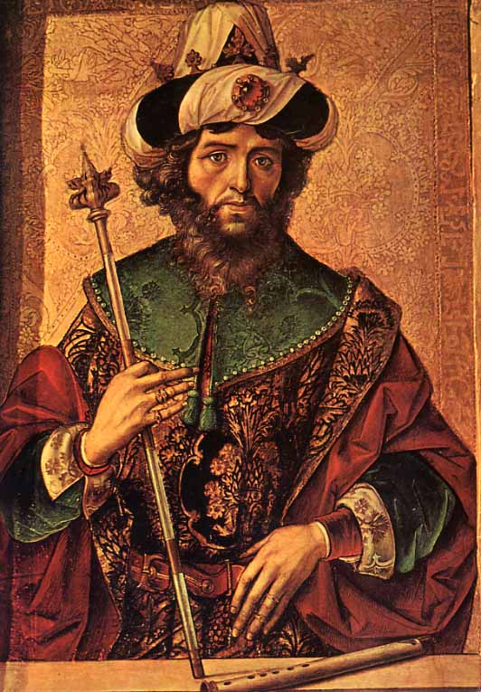 rey david berrugete