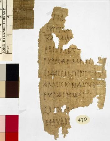 Rylands Papiros 470
