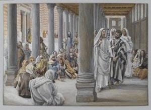 En el templo