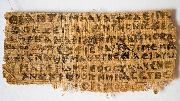 papiro esposa de Jesus