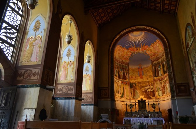 iglesia de la Visitación interior
