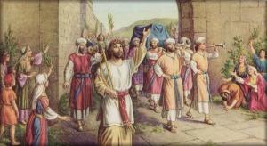david entra en jerusalen con el arca 2