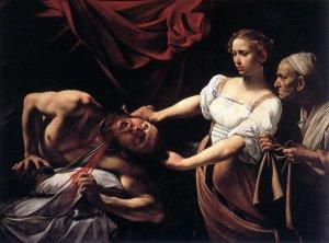 Caravaggio, Judith Beheading Holofernes c1598
