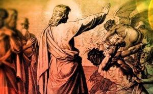 Cristo exorcizando